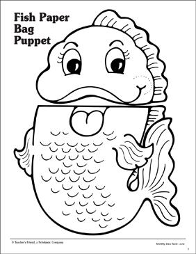 Human Paper Bag Puppet Ideas