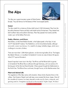 The Alps Text Amp Organizer