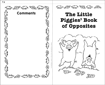 Little Piggies' Book of Opposites (Early Concepts