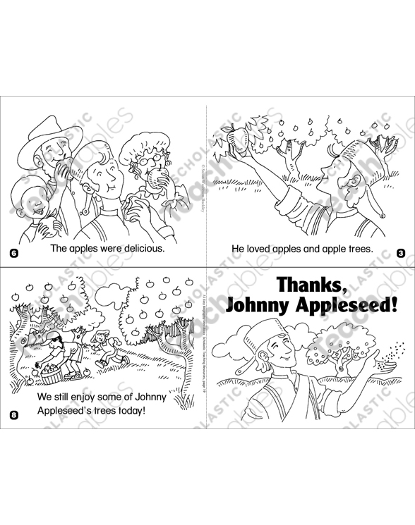The Story of Johnny Appleseed Nonfiction Printable Book