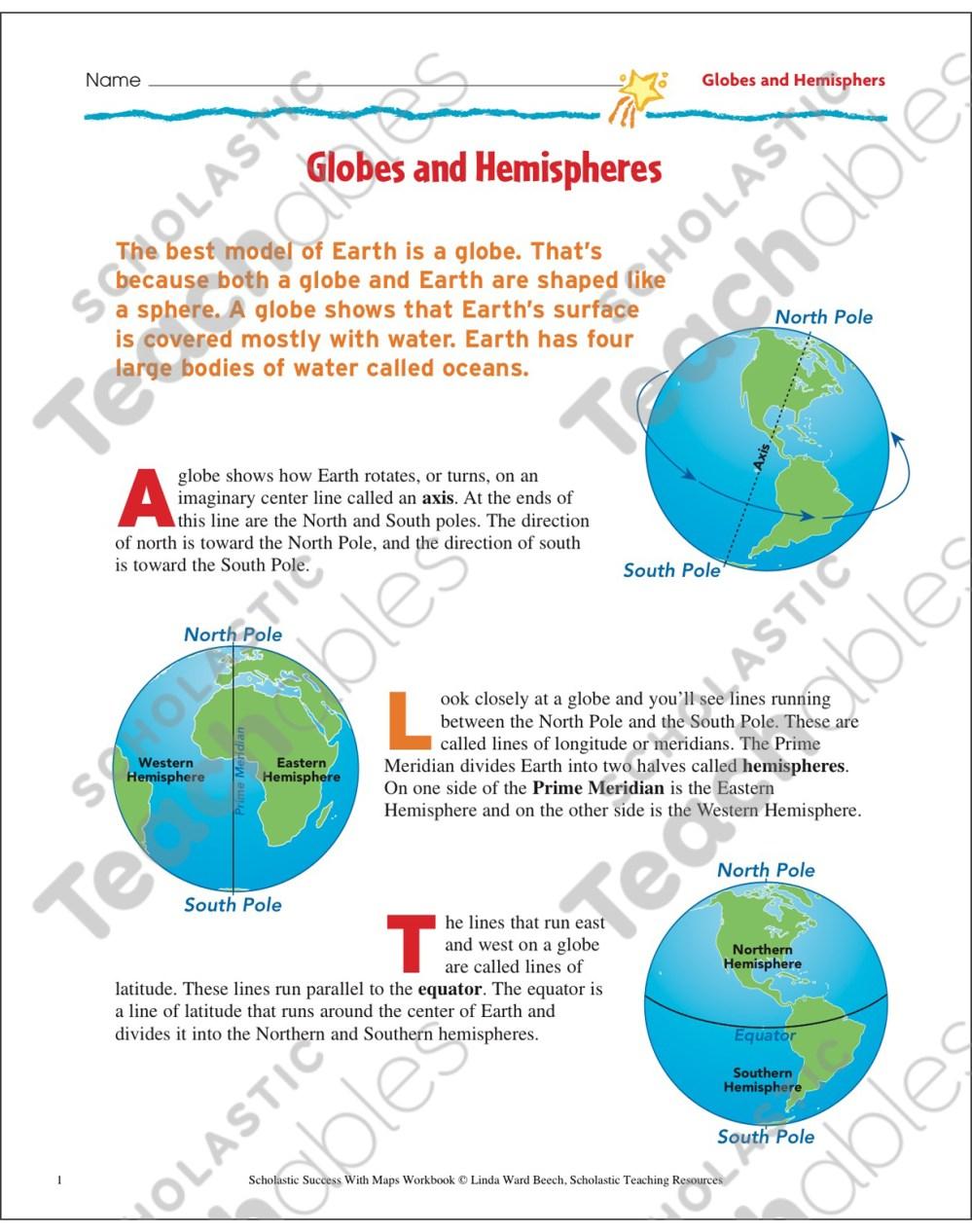 medium resolution of Happy Hemispheres Worksheet Answers - Nidecmege