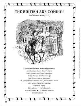 The British Are Coming (Paul Revere's Ride, 1775): Play