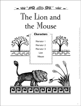 The Lion and the Mouse: A Conflict Resolution Folktale
