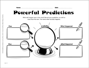 Reading Graphic Organizer: Powerful Predictions
