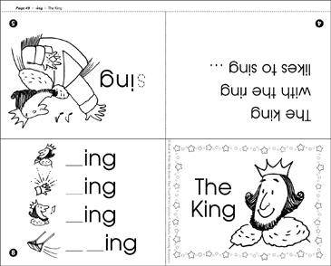 The King Ing Word Family