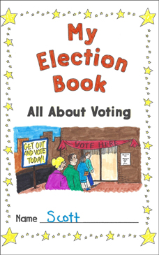 My Election Book All About Voting Election Activities