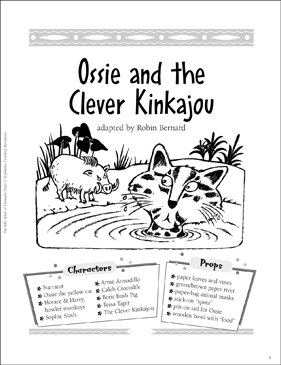 Ossie and the Clever Kinkajou: Easy-to-Read Play
