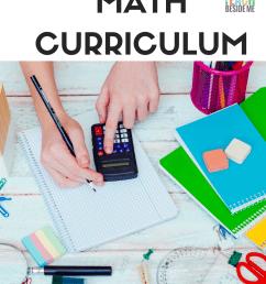 Homeschool Math Curriculum- The TOP Choices - Teach Beside Me [ 1500 x 1000 Pixel ]