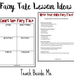 Fairy Tale Lesson Ideas with Hans Christian Andersen - Teach Beside Me [ 1024 x 1024 Pixel ]