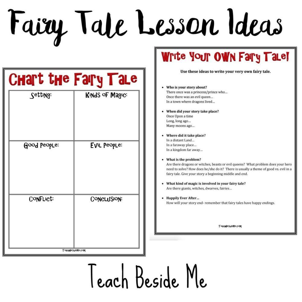 medium resolution of Fairy Tale Lesson Ideas with Hans Christian Andersen - Teach Beside Me