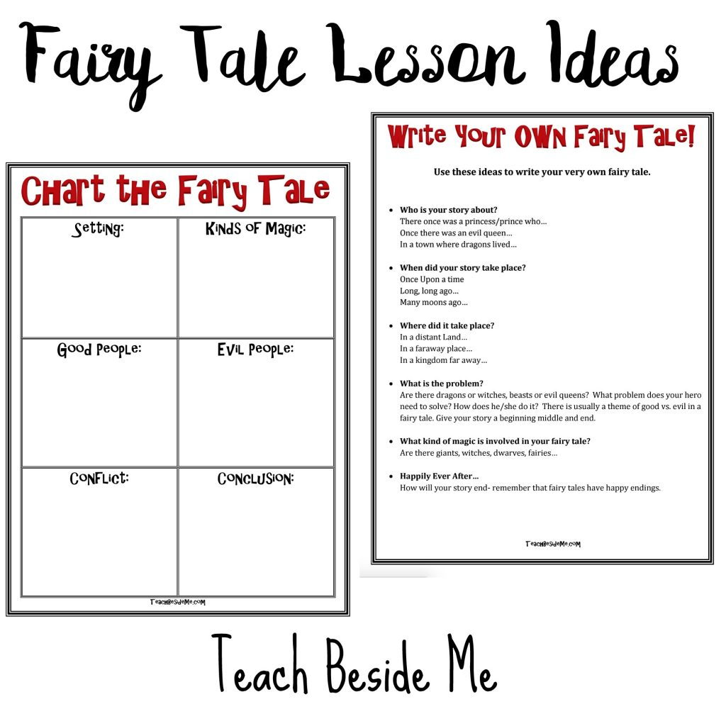 hight resolution of Fairy Tale Lesson Ideas with Hans Christian Andersen - Teach Beside Me