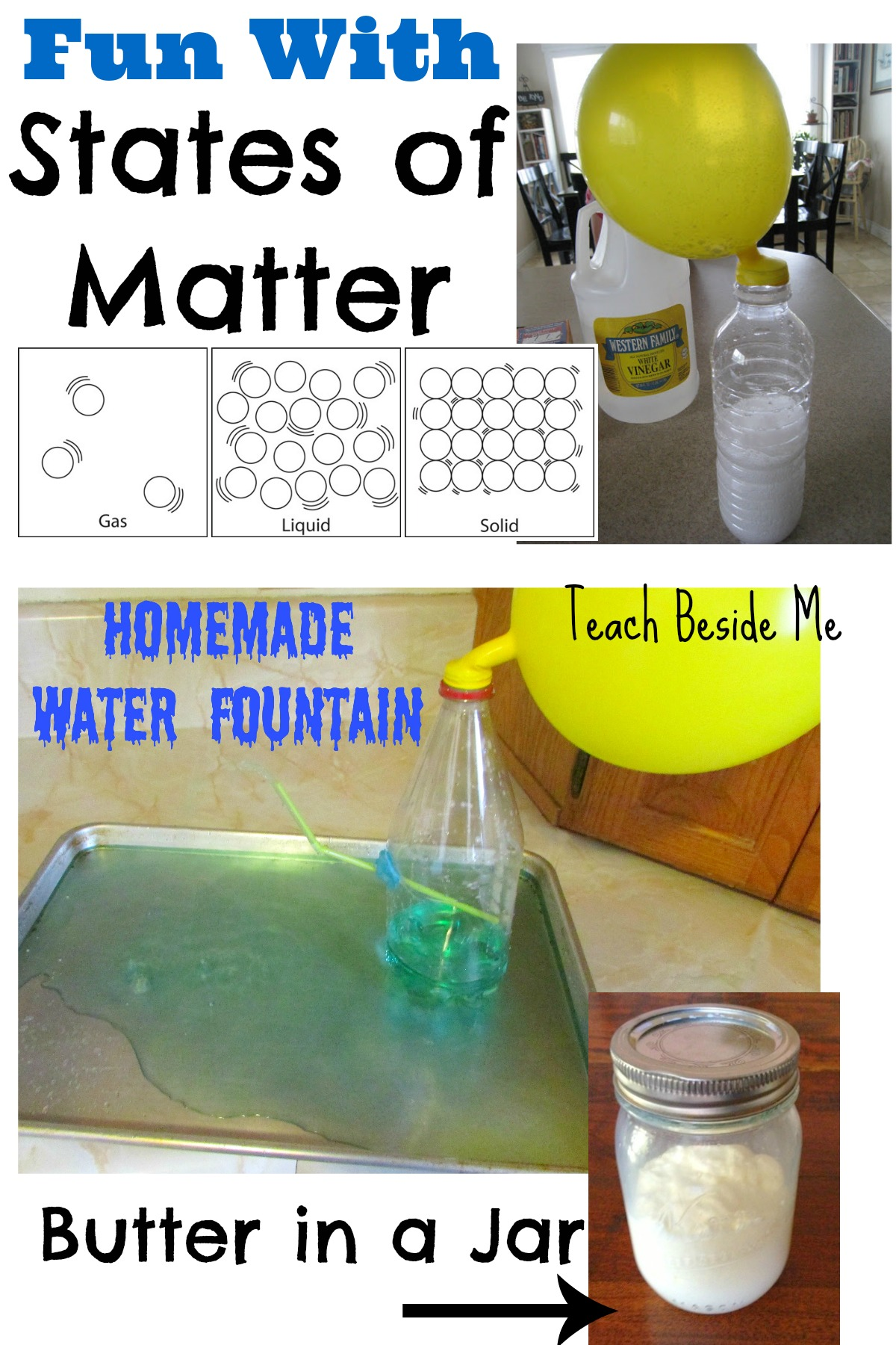 States Of Matter Solids Liquids And Gases