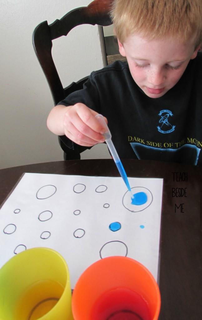 Eye Dropper Dot Counting Teach Beside Me