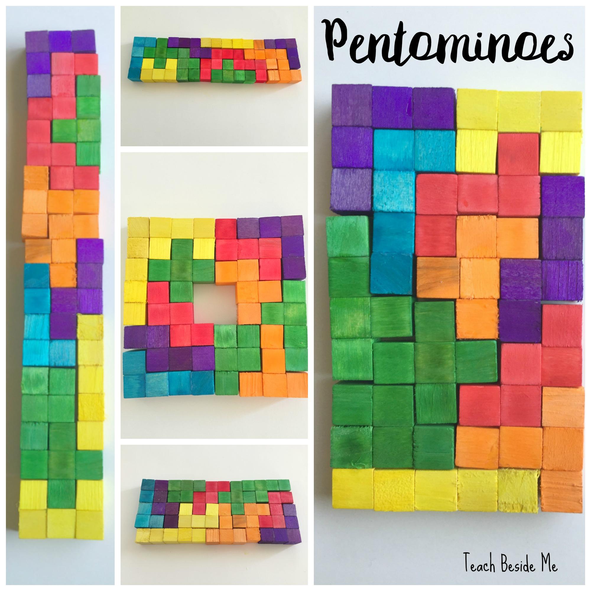 Pentomino Blocks