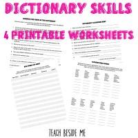 How to Teach Dictionary Skills to Kids - Teach Beside Me