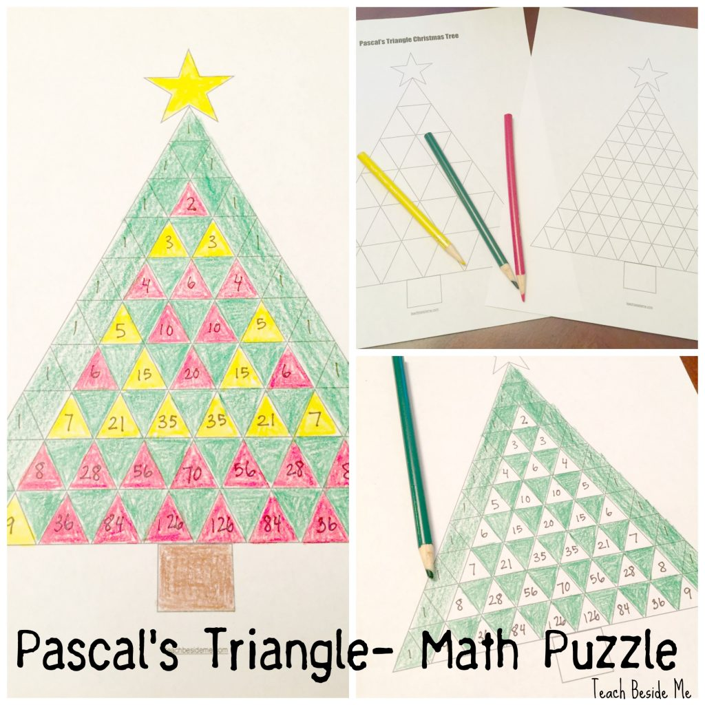 Pascal S Triangle Christmas Tree Math
