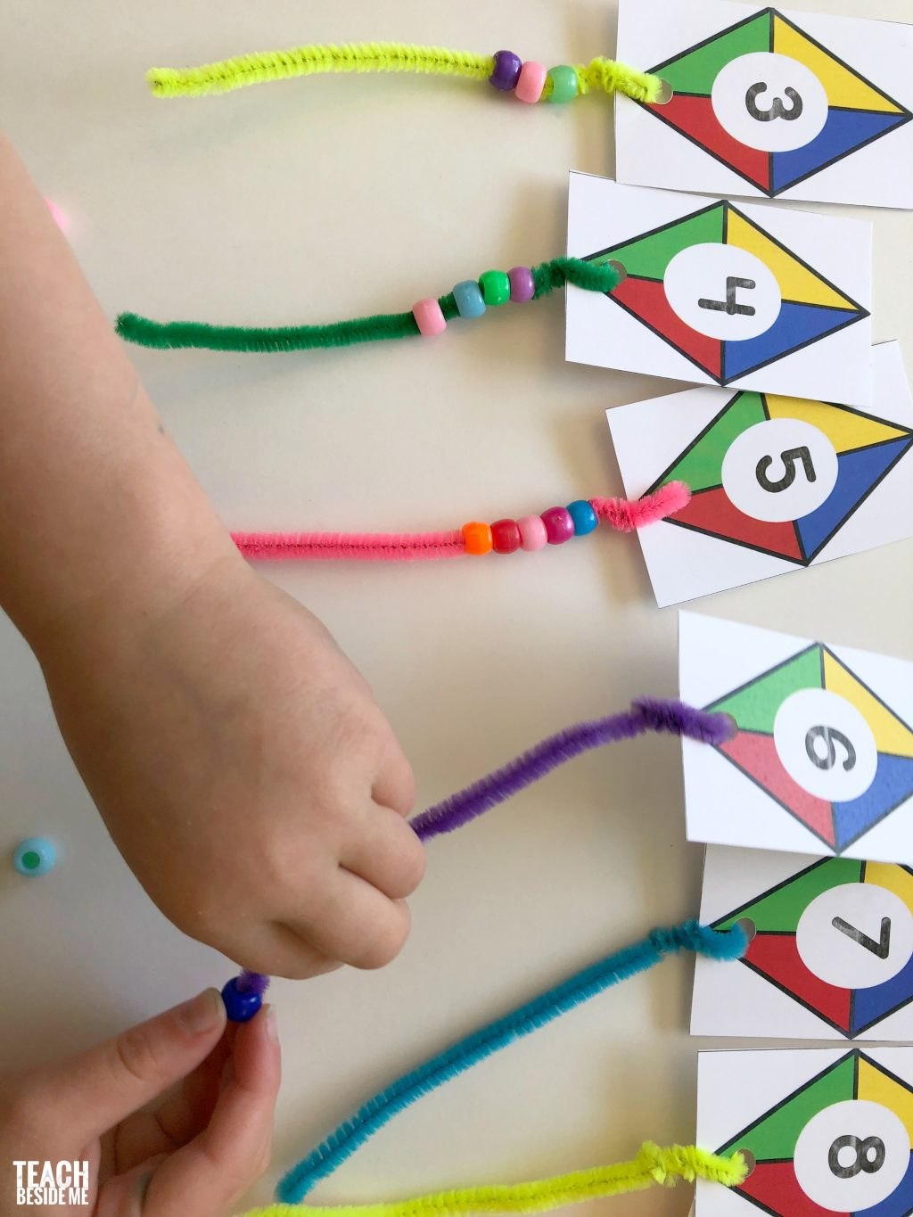 Kite Themed Preschool Math