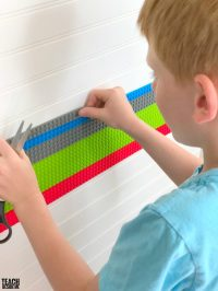How to Build a Lego Wall with Mayka Tape - Teach Beside Me