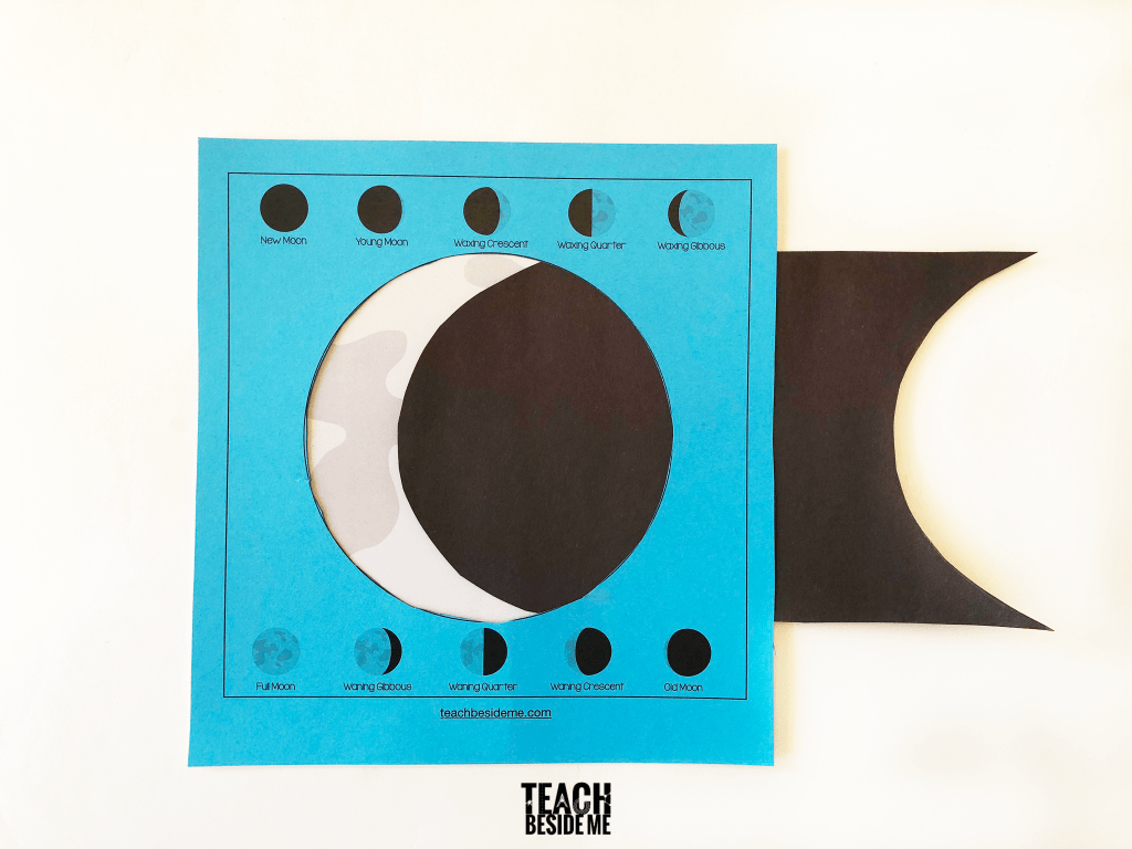 hight resolution of Moon Phases Activity for Kids - Teach Beside Me