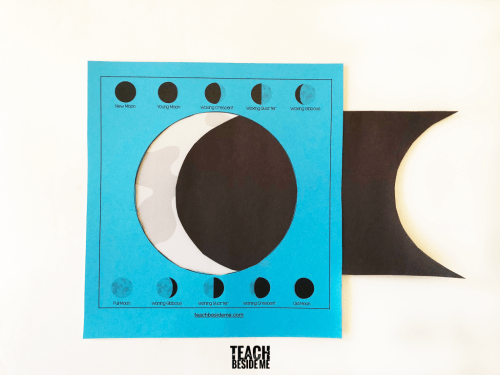 small resolution of Moon Phases Activity for Kids - Teach Beside Me