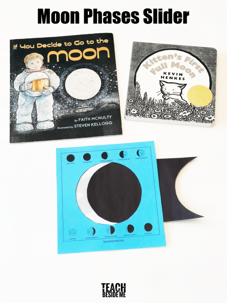 medium resolution of Moon Phases Activity for Kids - Teach Beside Me