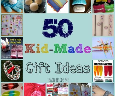 kid made gifts teach