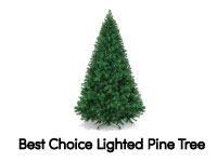 7ft Fiber Optic Christmas Tree