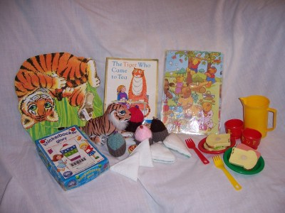 Story sacks - Tiger who came to tea