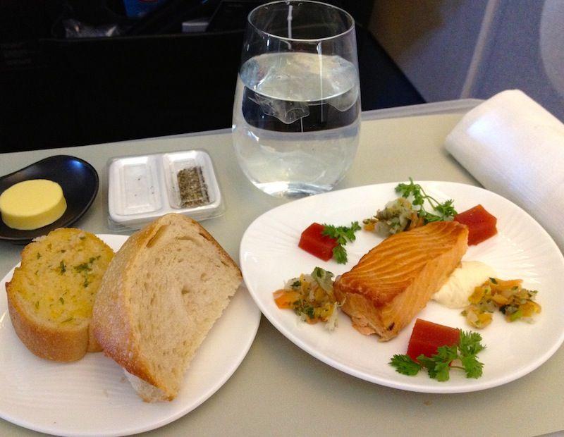 <ニュージーランド航空機内食>NZ295/APW-AKL/アピア-オークランド