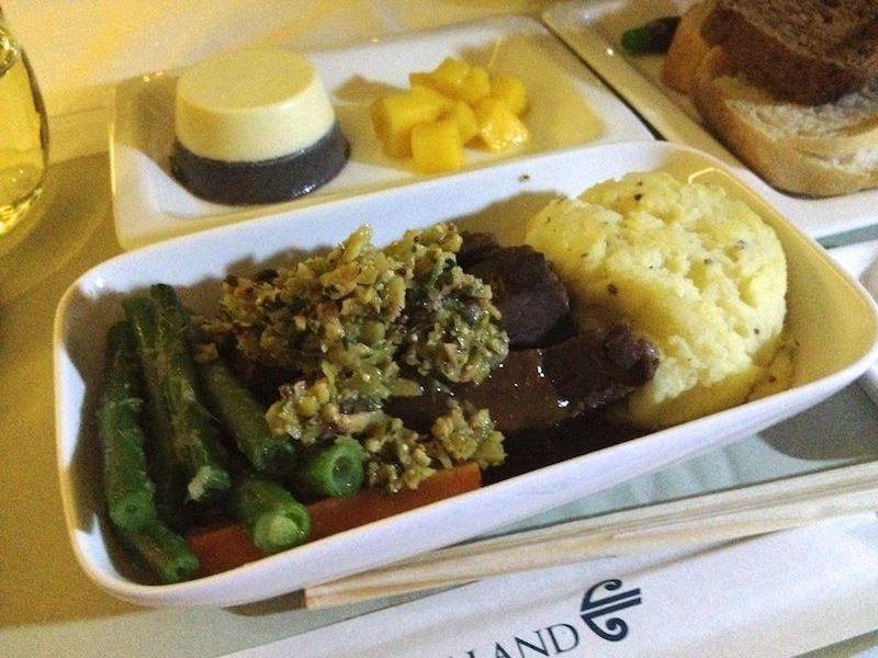 <ニュージーランド航空機内食>NZ289/AKL-PVG/オークランド-上海