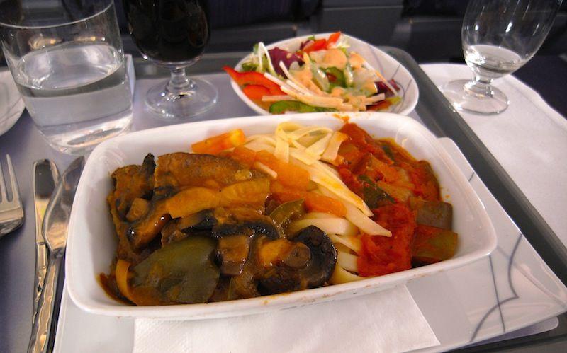 【タイ国際航空機内食】TG435/CGK-BKK/ジャカルタ-バンコク(スワンナプーム)