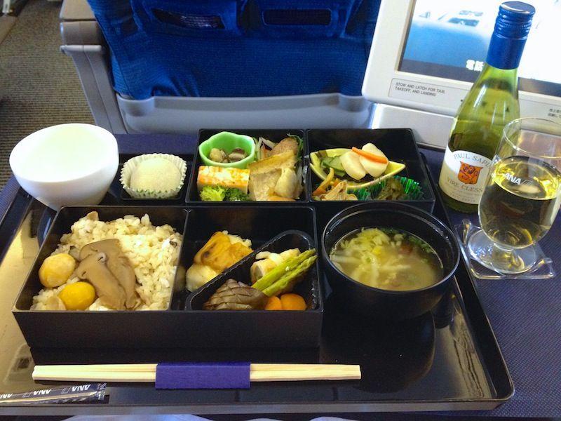 <全日本空輸/ANA機内食>NH920/PVG-NRT/上海(浦東)-東京(成田)