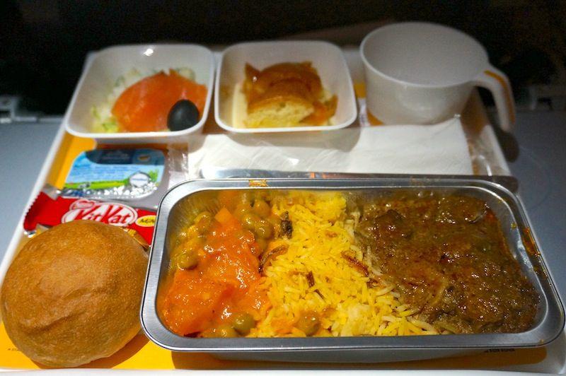 <ルフトハンザ・ドイツ航空機内食>LH779/SIN-FRA/シンガポール-フランクフルト