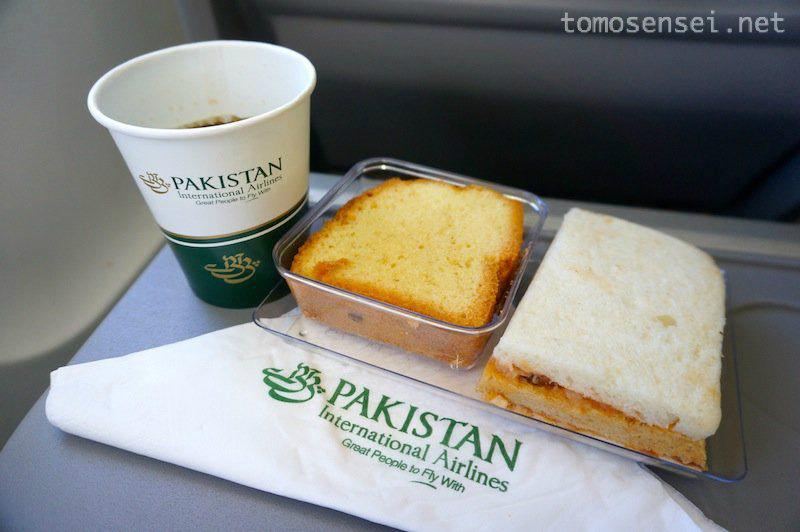 【パキスタン国際航空機内食】PK390/KHI-SKZ/カラチ-サッカル