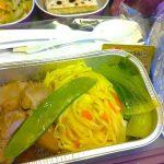 【タイ国際航空機内食】TG408/SIN-BKK/シンガポール-バンコク(スワンナプーム)