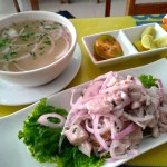 【世界一周】マチュピチュ村でペルー料理「セビーチェ」を食べてみた