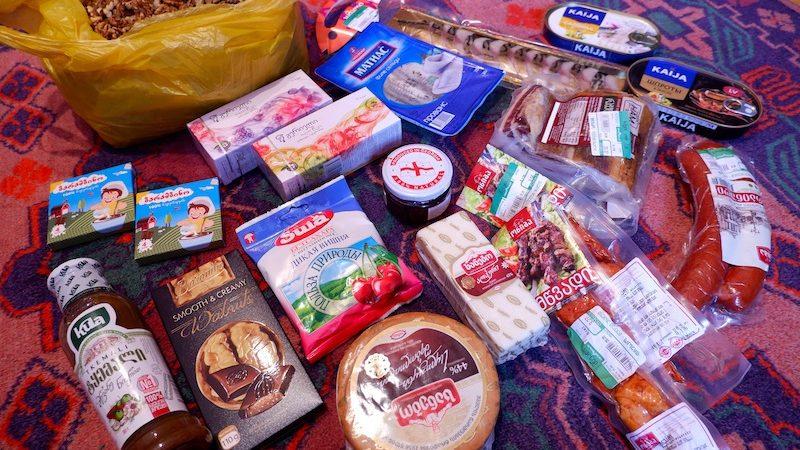 【世界一周】ジョージア土産を探しにトビリシ市内のスーパーマーケットへ