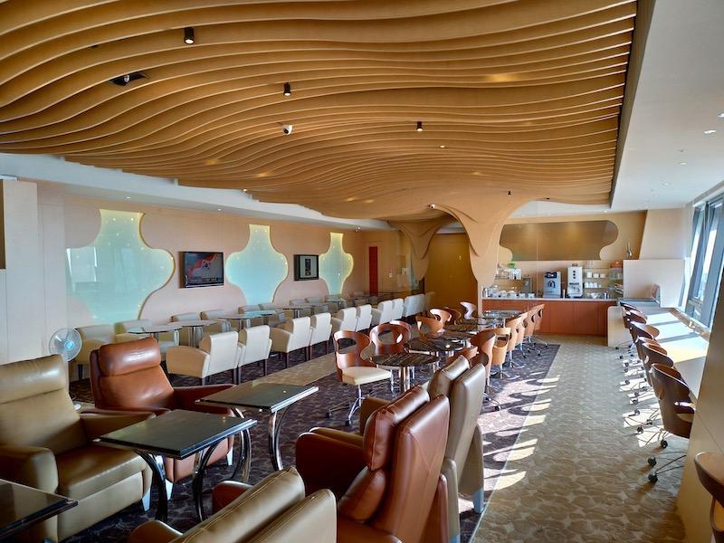 【空港ラウンジ】台中国際空港(RMQ)国際線ターミナル「More Premium Lounge」