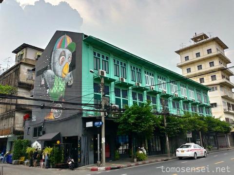 【バンコク】歴史的建造物に泊まる☆「オールドタウン・ホステル/Oldtown Hostel」