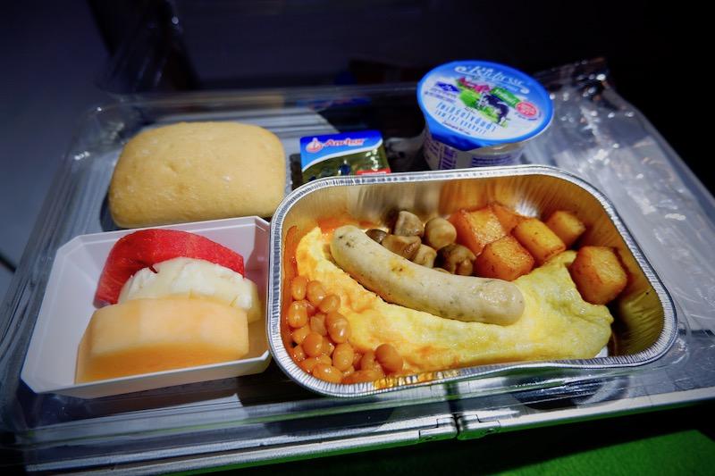 【春秋航空機内食・搭乗記】9C8742/BKK-BHY/バンコク(スワンナプーム)-北海