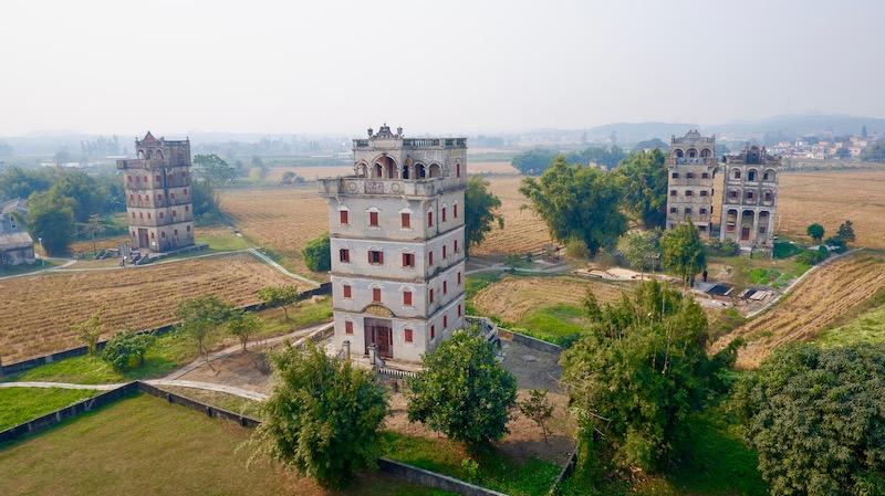 【中国】世界遺産「開平楼閣と村落」を個人旅行で観光する②