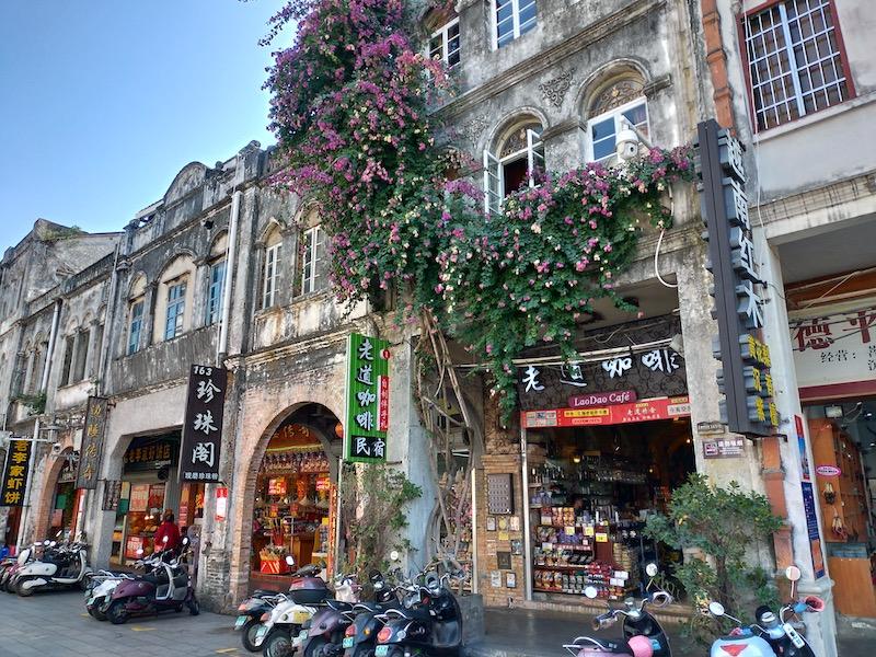 【中国】北海老街にある騎楼建築のカフェ&ホテル「老道珈琲民宿」