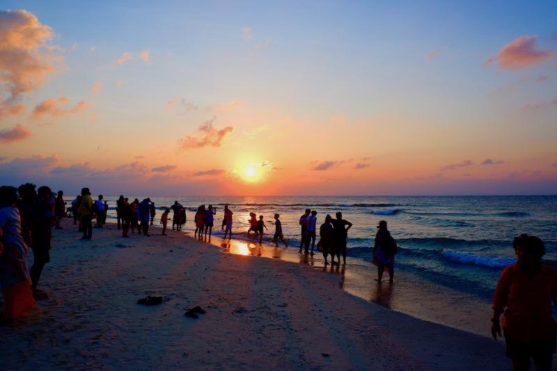 【インド】ニール島のビーチでリラックス&サンセット