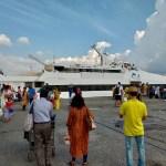 【インド】ポートブレアからハブロック島への行き方(Makruzz社の高速フェリー)