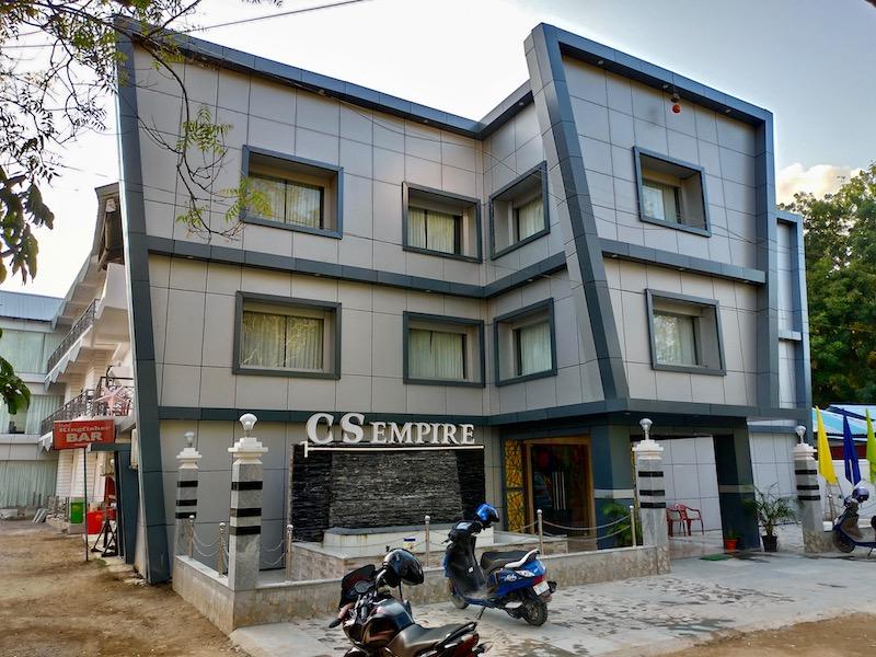 【インド】ニール島中心部の新しいホテル「Hotel Kingfisher」
