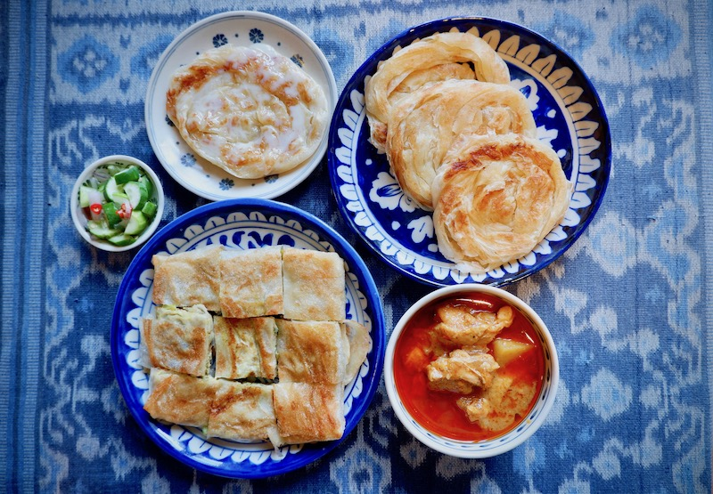 【バンコク宅配ごはん】Roti Islamのマッサマンカレー(エカマイ)