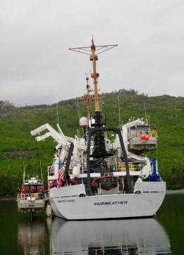 Launching small boat