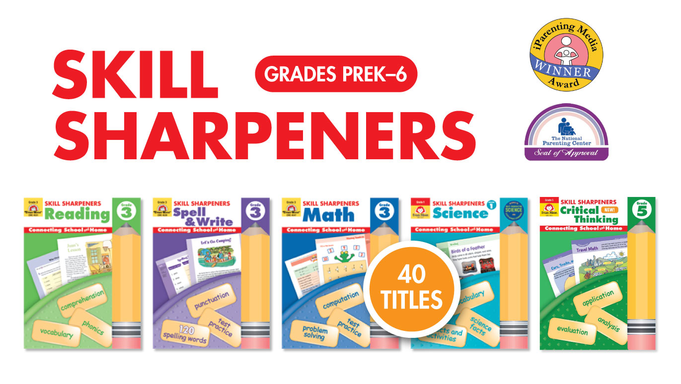 Homeschool Review of Skill Sharpeners Activity Books - The Joy of