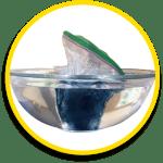 mini glacier in bowl
