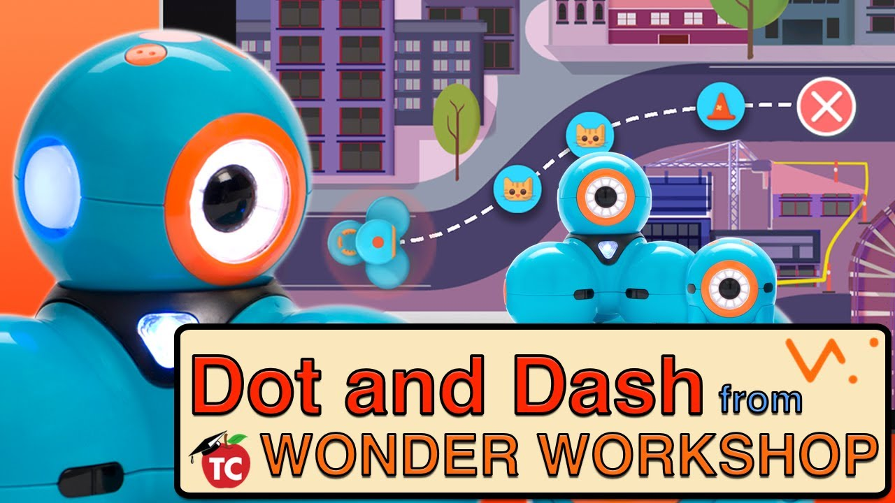 Dot And Dash From Wonder Workshops Bring Tech To Toddlers